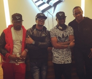 P-Square Hang Out At Jay Z's Tidal New York Office [See Photo]